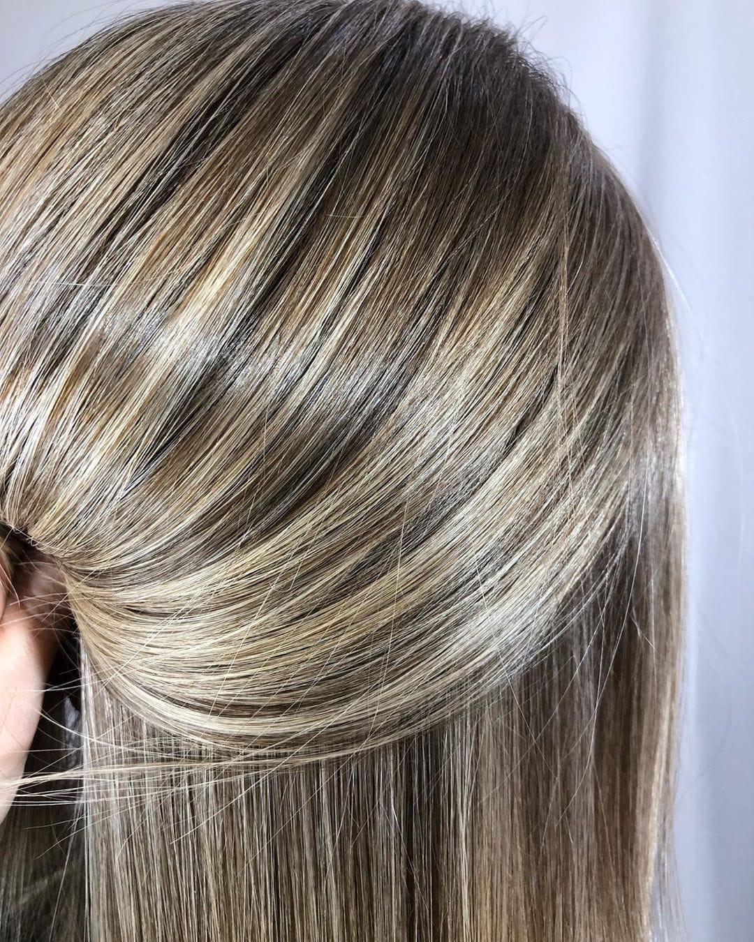 симпатичный коврик мелирование волос палитра фото составит